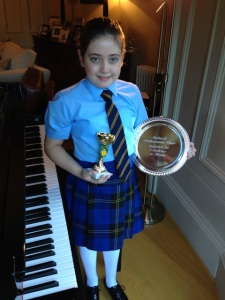 Scarlett Morris Trophy Winner