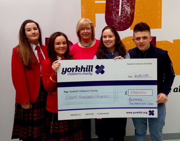donation to Yorkhill
