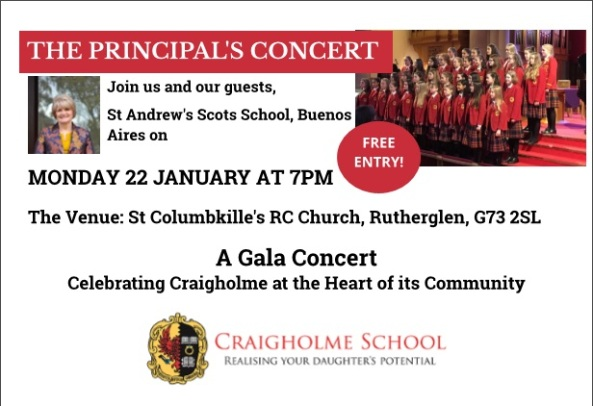 Concert St Collumbkille's January 2018