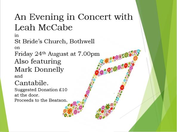 Leah McCabe Concert