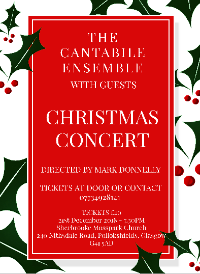 Cantabile Concert Dec 2018